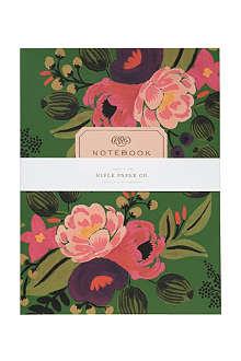 RIFLE PAPER Vintage Blossom notebooks set