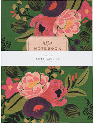 RIFLE PAPER Vintage Blossom notebooks set
