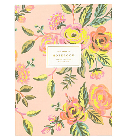 RIFLE PAPER Jardin de Paris memoir notebook