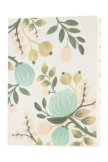 RIFLE PAPER Botanical blue journal