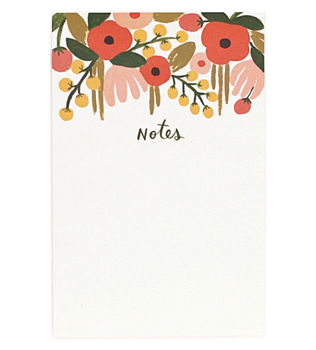 RIFLE PAPER Hanging Garden notepad