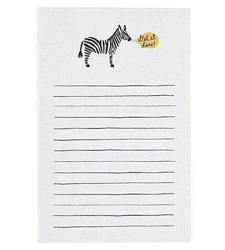 RIFLE PAPER Get it done notepad