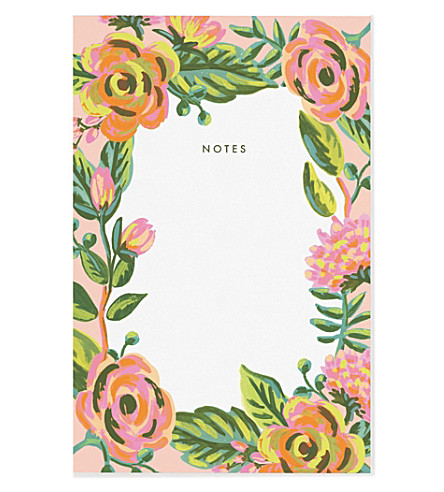 RIFLE PAPER Jardin de Paris notepad