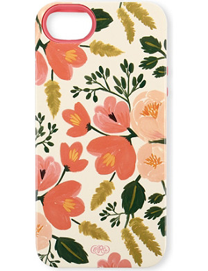 RIFLE PAPER Botanical Rose iPhone 5/5s case