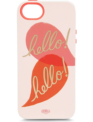 RIFLE PAPER Hello iphone 5 case