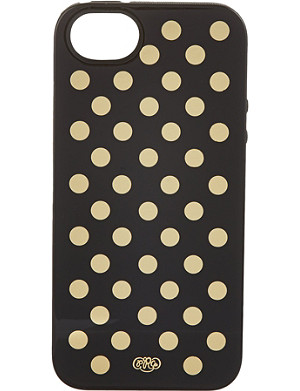 RIFLE PAPER Gold Dots iPhone 5 case
