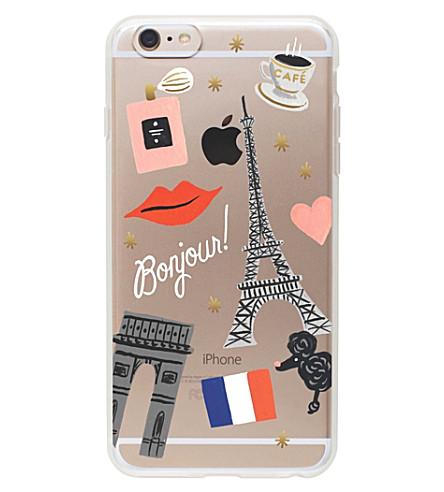 RIFLE PAPER 我爱巴黎 iPhone 手机软壳面料