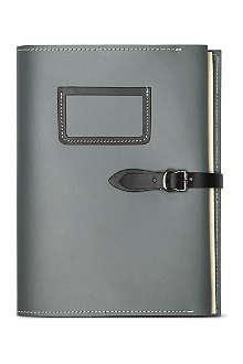 UNDER COVER Slate grey a5 folder