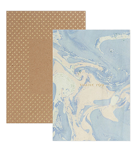 KATIE LEAMON Marbled cards box set