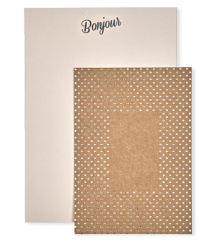 KATIE LEAMON Bonjour A5 letter writing set