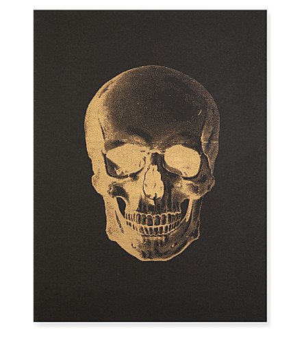 KATIE LEAMON Skull A3 print