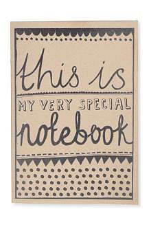 KATIE LEAMON Very Special A5 notebook