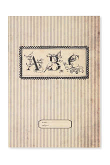 KATIE LEAMON Vintage ABC A5 notebook