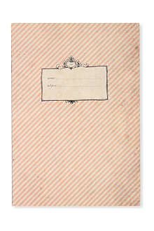 KATIE LEAMON Vintage Stripe A5 notebook