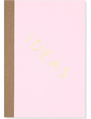 STUDIO SARAH Ideas ruled notebook