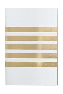 STUDIO SARAH Striped pocket notebook