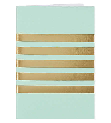 STUDIO SARAH Striped pocket notebook A9