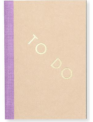 STUDIO SARAH To Do notebook