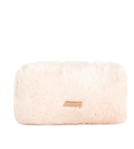 SKINNYDIP Pink kitty pencil case
