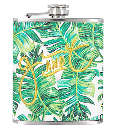 SKINNYDIP G&T hip flask