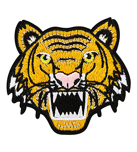 SKINNYDIP Tiger iron on patch