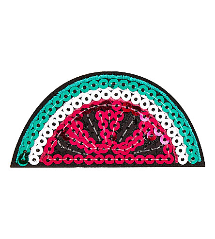 SKINNYDIP Sequin watermelon sticker