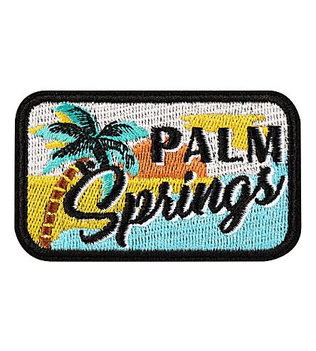 SKINNYDIP 'Palm Springs' iron on patch