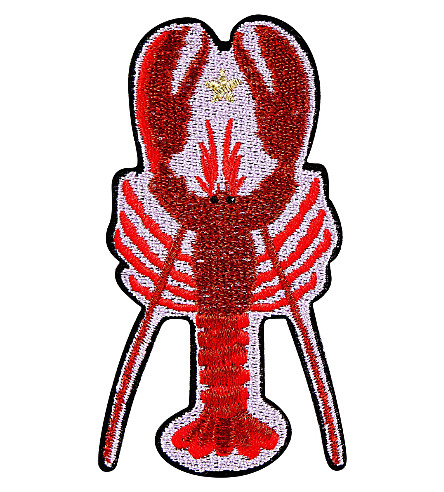 SKINNYDIP Lobster iron on patch