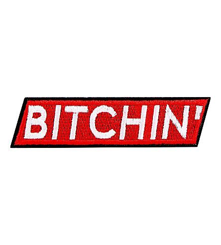 SKINNYDIP 'Bitchin' iron on patch