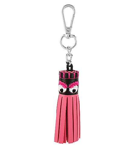 SKINNYDIP Monster tassel key charm