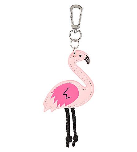 SKINNYDIP Flamingo key charm