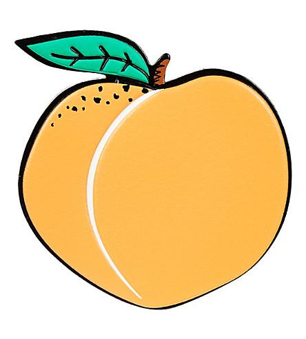 SKINNYDIP Peach sticker