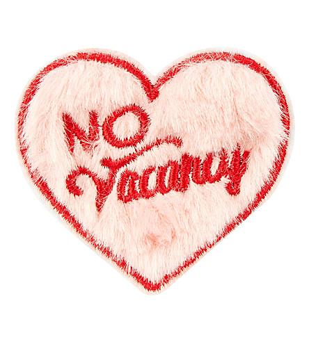 SKINNYDIP No vacancy plushie sticker