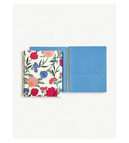 KATE SPADE NEW YORK Blossom spiral notebook