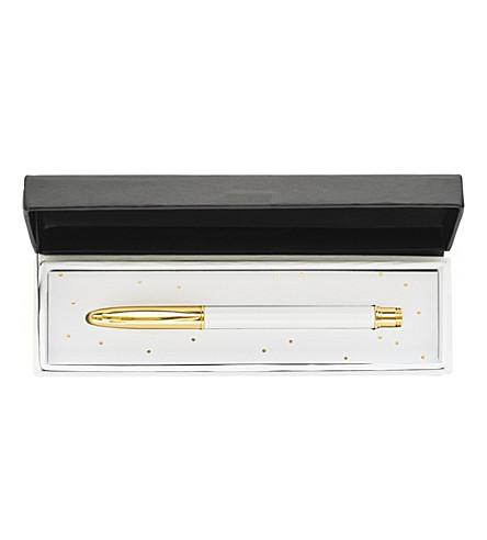 SUGAR PAPER Signature brass ballpoint pen