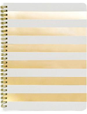 SUGAR PAPER Cabana stripe notebook