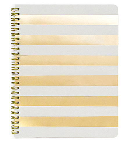 SUGAR PAPER Cabana stripe notebook