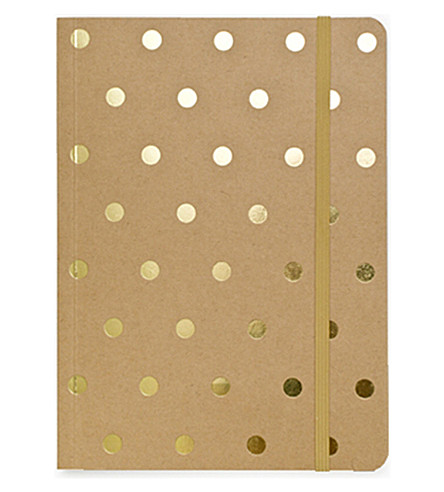SUGAR PAPER Polka-dot journal