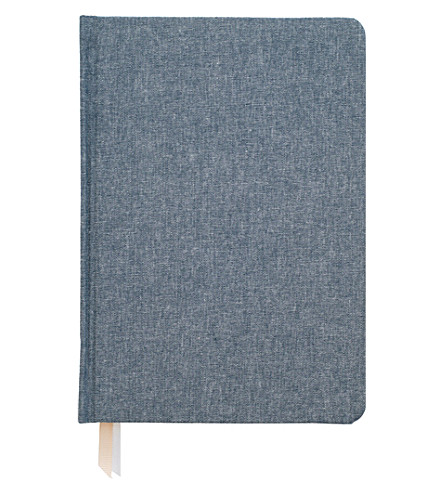 SUGAR PAPER Tailored chambray journal