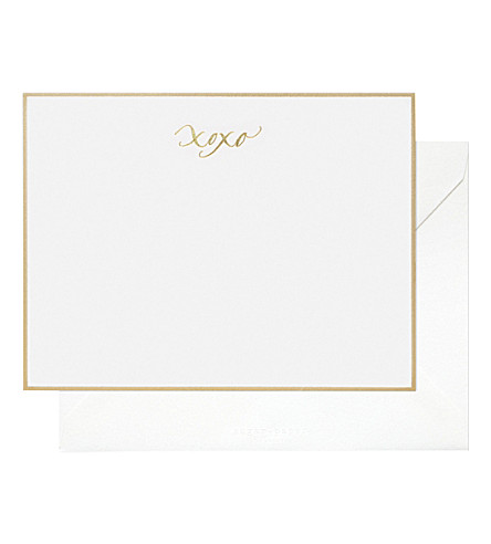 SUGAR PAPER Xoxo note set