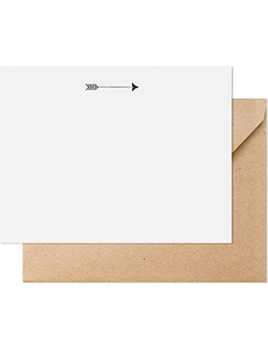 SUGAR PAPER Arrow note set