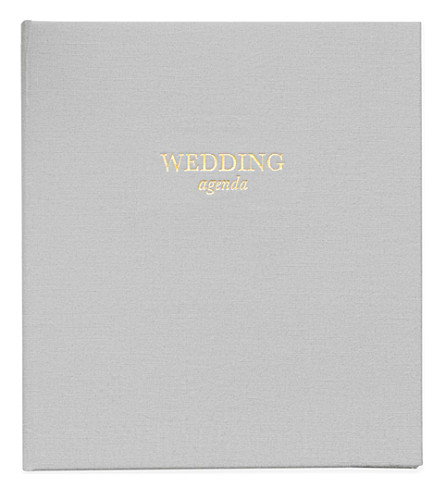 SUGAR PAPER Wedding Agenda