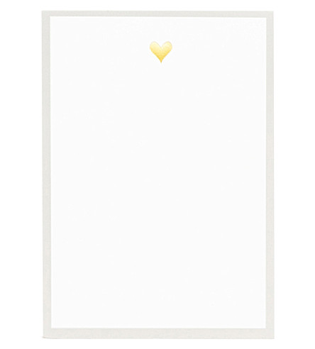 SUGAR PAPER Heart mini notepad