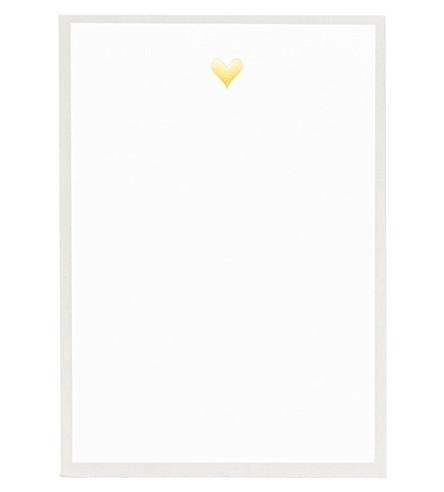 SUGAR PAPER Heart mini notepad