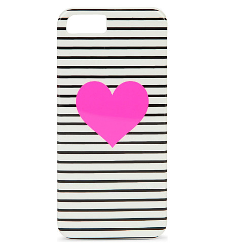 BANDO Striped heart iPhone 5 case