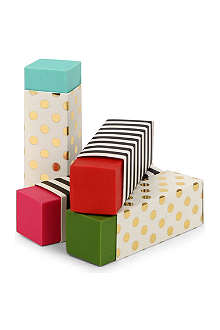 KATE SPADE Patterned eraser set
