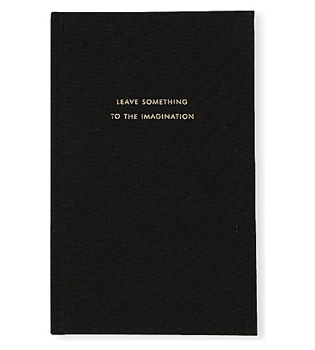 KATE SPADE NEW YORK Leave Something to the Imagination journal