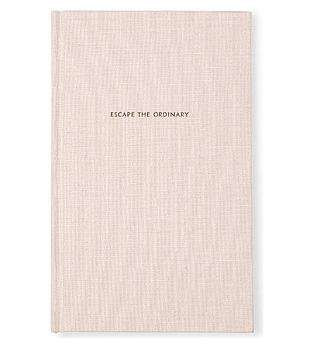 KATE SPADE NEW YORK Escape the Ordinary journal 20cm