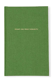 KATE SPADE Penny for Your Thoughts journal