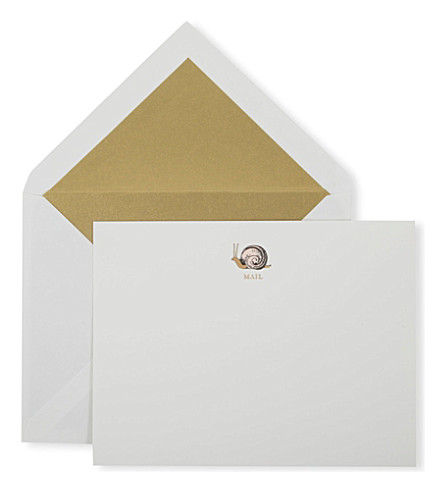 KATE SPADE NEW YORK Snail Mail notecard set